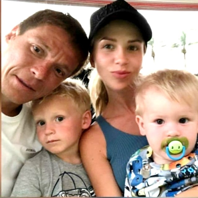 Semin with Wife and Kids