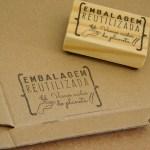 Carimbo TAG 32 – Embalagem Reutilizada
