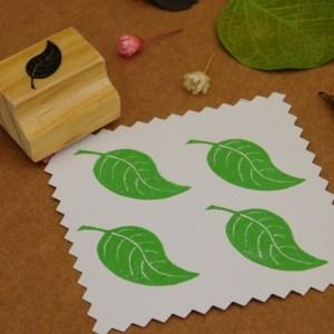 Carimbo Folha de Árvore