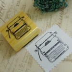 Carimbo Máquina de Escrever