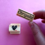 Dose Dupla – Carimbos Coração Riscado e Obrigada 2