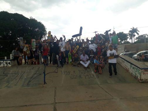 Skate Orlândia evento praca dos imigrantes