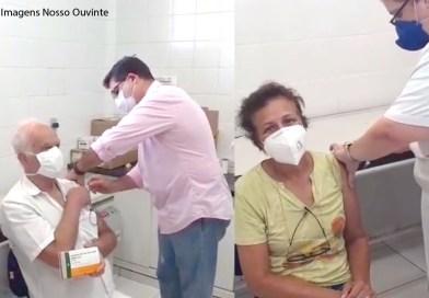 Orlândia inicia vacinação contra a Covid-19