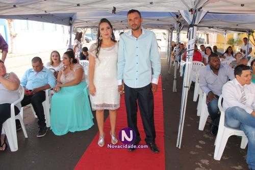 Gilberlândio Ferreira da Silva e Débora Cristina dos Santos-casamento