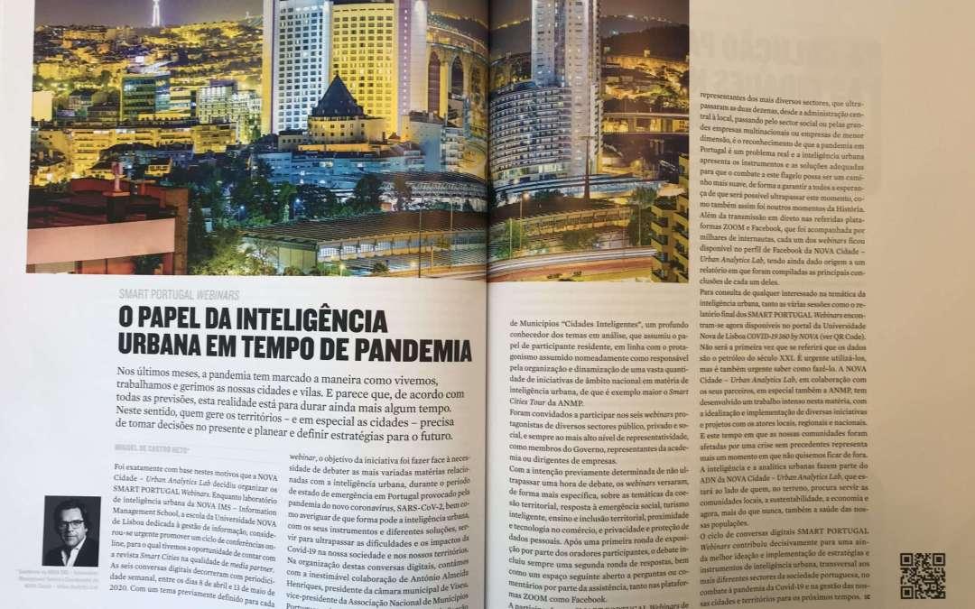 O PAPEL DA INTELIGÊNCIA URBANA EM TEMPO DE PANDEMIA
