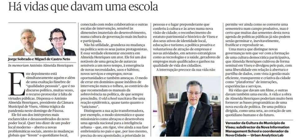 In memoriam António Almeida Henriques