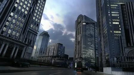 Modern City Concept Art