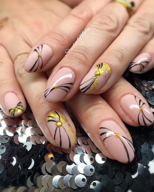 дизайн ногтей зима 5