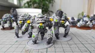 Ghar Battlesuit Team Yellow