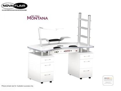 Montana Nail Table Nova Flair UK
