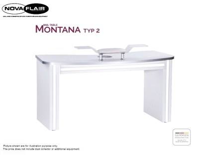 Montana Nail Table Type 2 Nova Flair UK 1