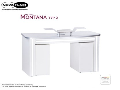 Montana Nail Table Type 2 Nova Flair UK 10