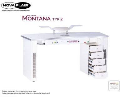 Montana Nail Table Type 2 Nova Flair UK 3