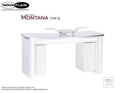 Montana Nail Table Type 2 Nova Flair UK 6