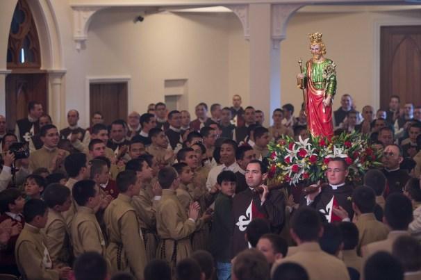 Entrada solene da imagem de São José