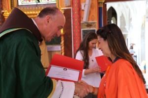 Entrega dos Certificados do Curso sobre os Sacramentos (3)