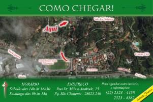 Convite Presépio Arautos 2018 - Mapa