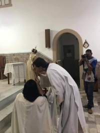 Arautos do Evangelho em Monerat