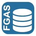 Banca dati FGAS logo blu 2