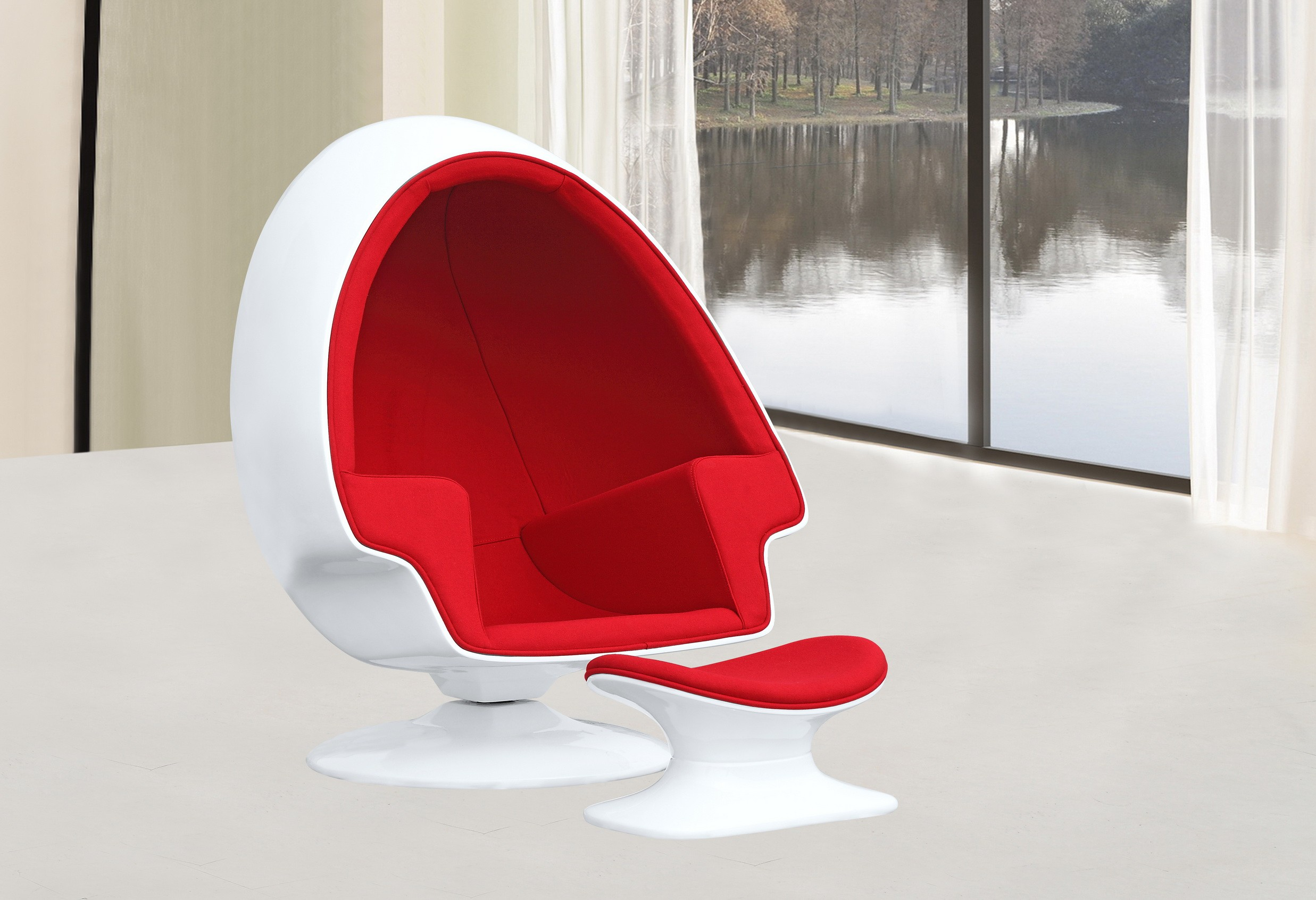 Alpha Egg Chair Alpha Egg Chair And Ottomanoccasional Chairs Modern