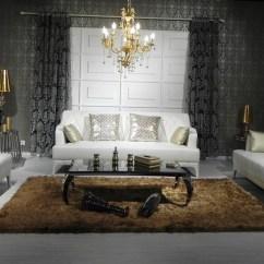 White Tufted Leather Sofa Ashley Harvest Sleeper Modern Set Nova Interiors