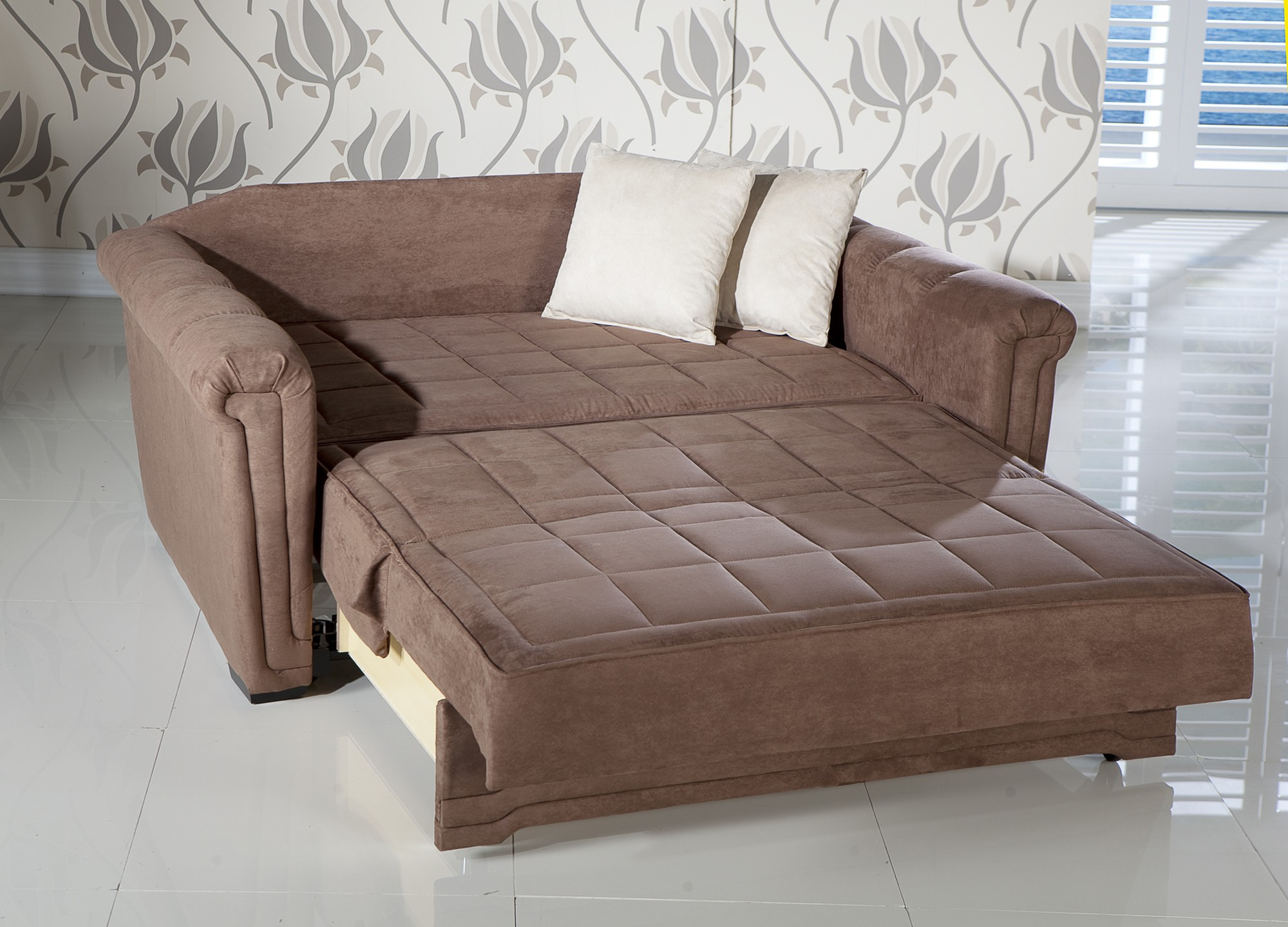 Victoria Loveseat Sleeper Obsession Truffle By Sunset Buy