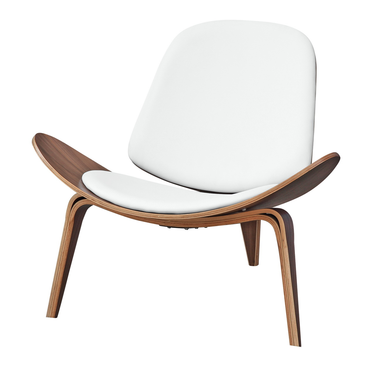 white leather accent chair modern best shell chair, occasional chairs, chairs boston, ...