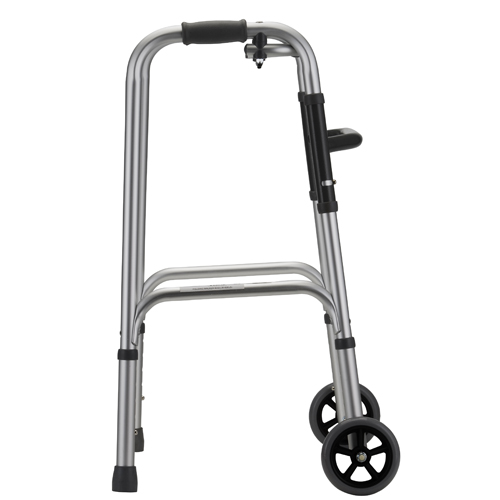 Folding Walkers 5 inch wheels