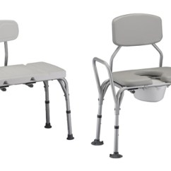 Shower Chair With Wheels And Removable Arms Steel Rail Transfer Benches