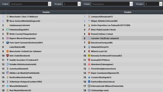 NLF  Nova Liga Fifa  Liga de Fifa para Xbox One