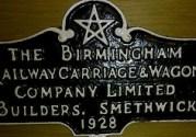 Smethwick metal sign