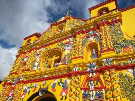 Church of San Andrés Xecul, the most vibrant church I have ever seen.
