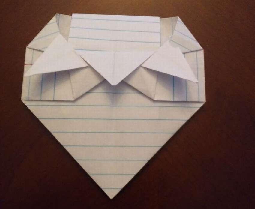 красивый конверт оригами
