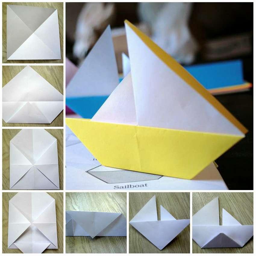 Origami Sailboat-regeling