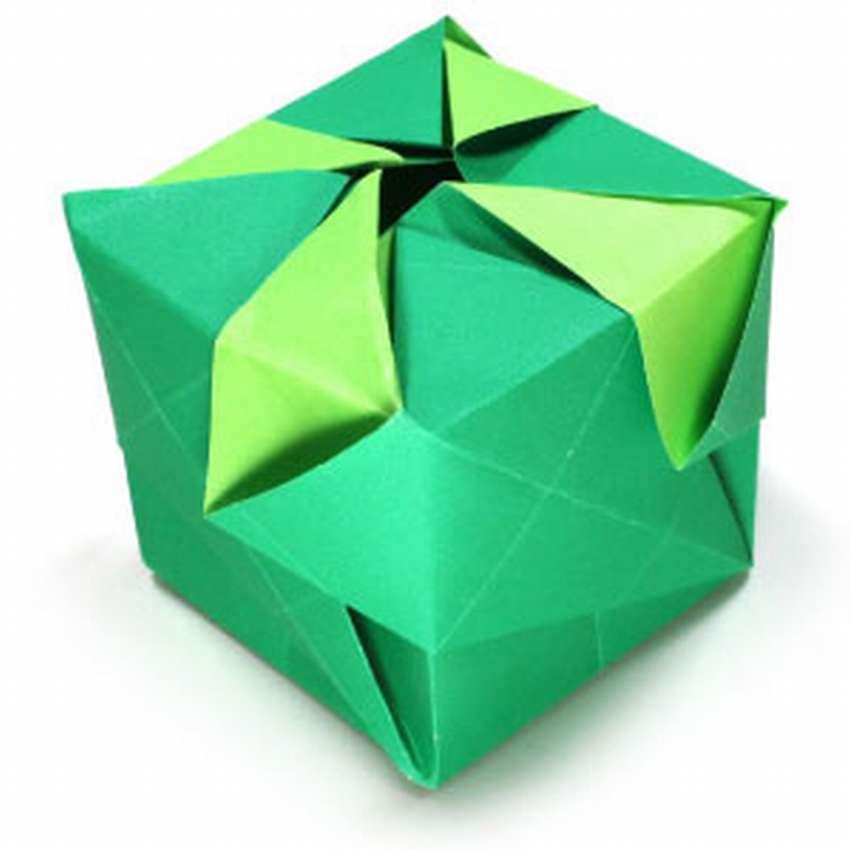 Куба оригами тізбегі