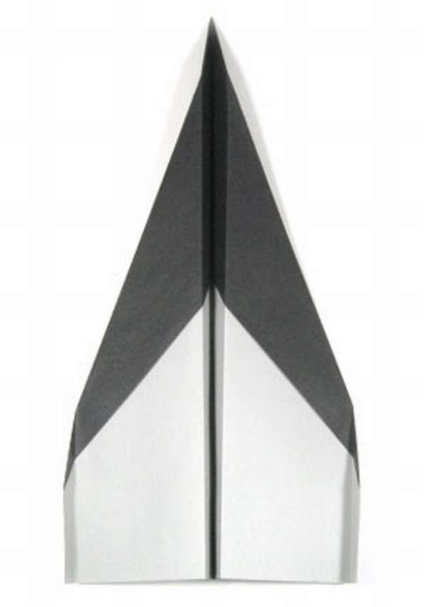 оригами самолетик из бумаги