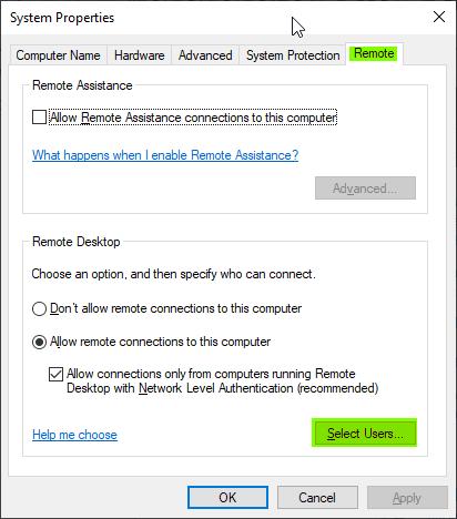 Remote-Add User