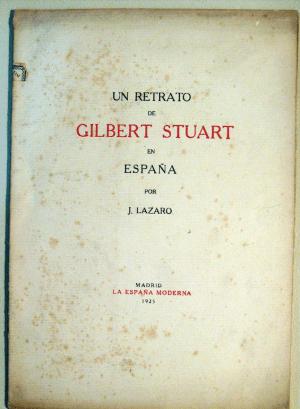 Un retrato de Gilbert Stuart, de J.Lázaro