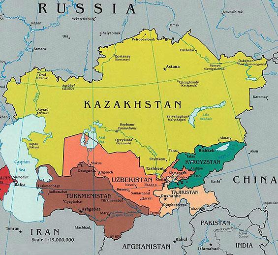 Soviet Union Map Climate