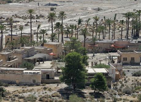 El entorno de los Baños de Sierra Alhamilla acogió parte del rodaje.