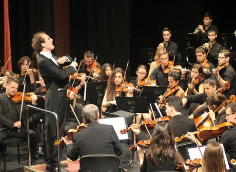 El director de la Filarmónica de Barcelona ha disfrutado con el concierto.