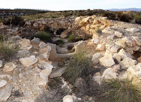 Una de las tumbas de El Barranquete.