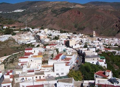 Canjáyar, enclavado en la Alpujarra almeriense.