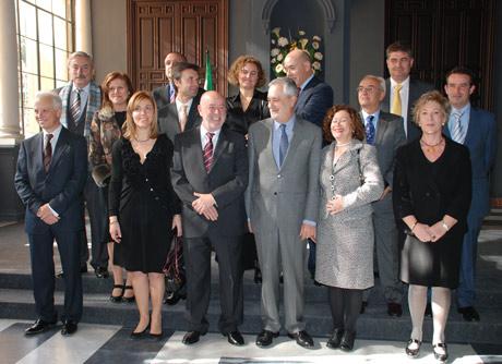 El nuevo equipo de Gobierno de la UAL.