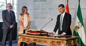 Acto de toma de posesión en Sevilla.