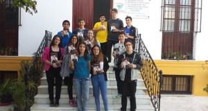 Participantes en el Club de Lectura Juvenil de Purchena.