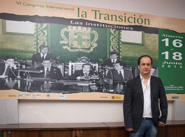 Rafael Quirosa-Cheyrouze, director del congreso.