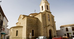 Iglesia neorrománica de Uleila del Campo.