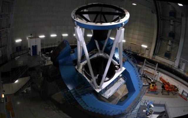 Cármenes funcionará acoplado al telescopio de 3,5 metros.