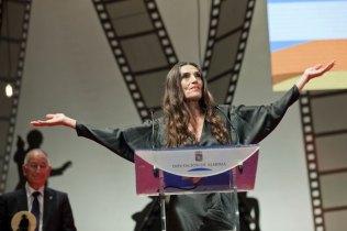 Ángela Molina fue la madrina de la gala.